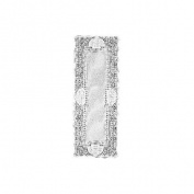 Heritage Lace Canterbury Classic 35.6cm by 91.4cm Runner, White