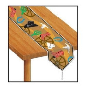 Printed Western Table Runner Party Accessory (1 count)