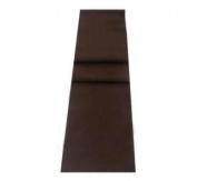 Dark Chocolate Brown Soft Cotton Feel Table Runner