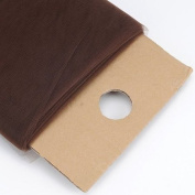 Chocolate Brown 137.2cm Tulle Fabric Bolt 137.2cm 40 Yards