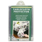 Clear Vinyl Fabric Tablecloth Durable Protector Protective Cover - 137.2cm X 177.8cm Oblong