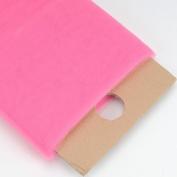 Shocking Pink 137.2cm Tulle Fabric Bolt 137.2cm 40 Yards