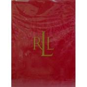 Ralph Lauren Tablecloth Paisley Dressage Red - Oblong Rectangular 177.8cm x 213.4cm