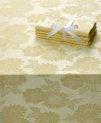Homewear Sam Hedaya Dinner Party Medley Yellow Tablecloth 60 X 104