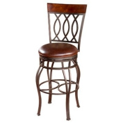 Bella 66cm . Counter Stool in Pepper and Bourbon