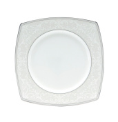 Nikko Pearl Symphony Square Accent Plate, 22.9cm