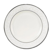Lenox Pearl Innocence Platinum Banded Ivory China Butter Plate