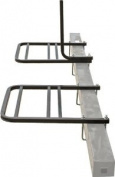 RV or Camper Trailer Bumper Bike Rack for 1-2 Bicycles