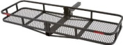 152.4cm Folding Hitch Cargo Carrier Basket