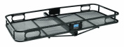Pro Series 63152 Black 152.4cm x 61cm Hitch Mounted Cargo Carrier