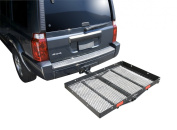 Pro Series 1040100 Solo Black 121.9cm x 81.3cm Hitch Mounted Cargo Carrier