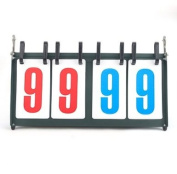 GOGO Portable Double-digit Tabletop Multifunctional Scoreboard, Ideal For Sports