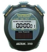 Solar Powered-Cum Splits Stopwatch