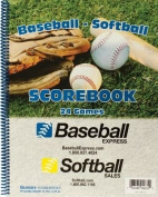 Baseball Express Baseball/Softball Game Scorebook