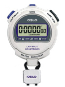 Oslo Silver 2.0 Twin Stopwatch and Countdown Timer
