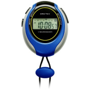 Sw-109bl Blue Dretec Stopwatch 1/100 of a Second Large-screen Display (Doritekku) Sports Timer