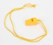 Atlantis Whistle with Neck Cord Yellow A2712