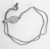 Atlantis Whistle with Neck Cord Grey A2709