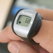 Brookstone Heart Rate Ring