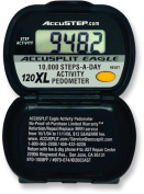 ACCUSPLIT AE120XL Pedometer, Steps Only
