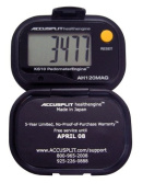 ACCUSPLIT Health Engine AH120MAG Pedometer/Step Counter with Magnum Display