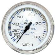 Faria 33819 Chesapeake 80 MPH Speedometer