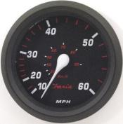 Faria Professional Red Speedo, 60 MPH