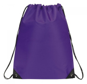 Drawstring Backpack Bookpack Bag, Purple by BAGS FOR LESSTM