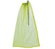 Mesh Drawstring Yellow Bag 18 by 76.2cm