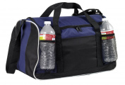 Sports Gym Duffel Bag Large Zipper Opening , Navy by BAGS FOR LESSTM