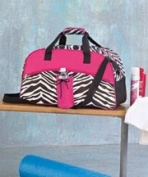 Zebra Sport Duffel Bag.