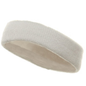 Head Bands (terry)-White W15S25C