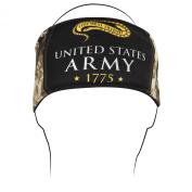 ZANheadgear 'Army Camo' Logo Headband