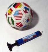 Hand Air Pump with Needle Ball Balloon Sport Soccer
