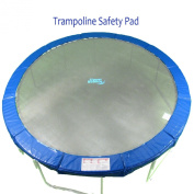 ". Sale"" 7.5' Super Trampoline Safety Pad (Spring Cover) Fits for 2.3m Round Trampoline Frames. 25.4cm wide - Blue"