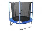 """28% Off Super Saving Sale"" 2.3m Trampoline & Enclosure Set equipped with the New "" EASY ASSEMBLE FEATURE"""