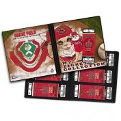 MLB Mascot Ticket Album 20cm - 0.6cm x 22cm -Arizona Diamondbacks - Baxter The Bobcat