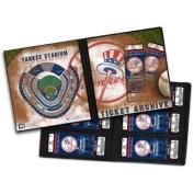New York Yankees Ticket Album, Holds 64 Tickets