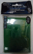 MAX Protection 50 Count Standard Gaming Card Sleeves Flat Green