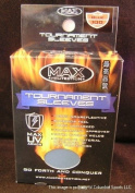 Max Protection Tournament Sleeves Blue/Silver UV Armour