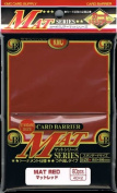 Matte Red Standard Card Sleeves 80ct.