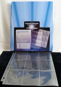 9 Pocket Trading / Sports / Baseball Card Pages Box of 100 GuardHouse Shield