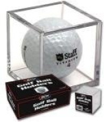 1 (One) Single BCW Golf Ball Square / Cube - Holder / Display Case!