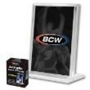 BCW - 1.3cm Vertical Acrylic Card Stand / Display or Holder with UV Protection - Ideal for Displaying Baseball & Other Sports Cards