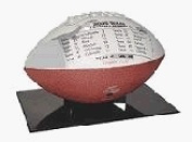 "BallQube ""The Stand"" Football Display - Made in U.S.A."