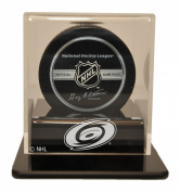 NHL Carolina Hurrincanes Single Hockey Puck Display Case