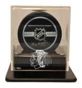 NHL Chicago Blackhawks Single Hockey Puck Display Case