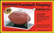 Grandstand Full Size Football Cube Display Holder - 98% UV Protection