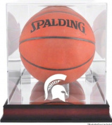 Michigan State Spartans Basketball Display Case | Details