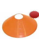 Jumbo 30.5cm Disc / Half Cones (Orange) - 1 Dozen